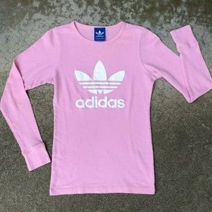 Adidas Originals Slim Fit Trefoil Thermal Shirt  M